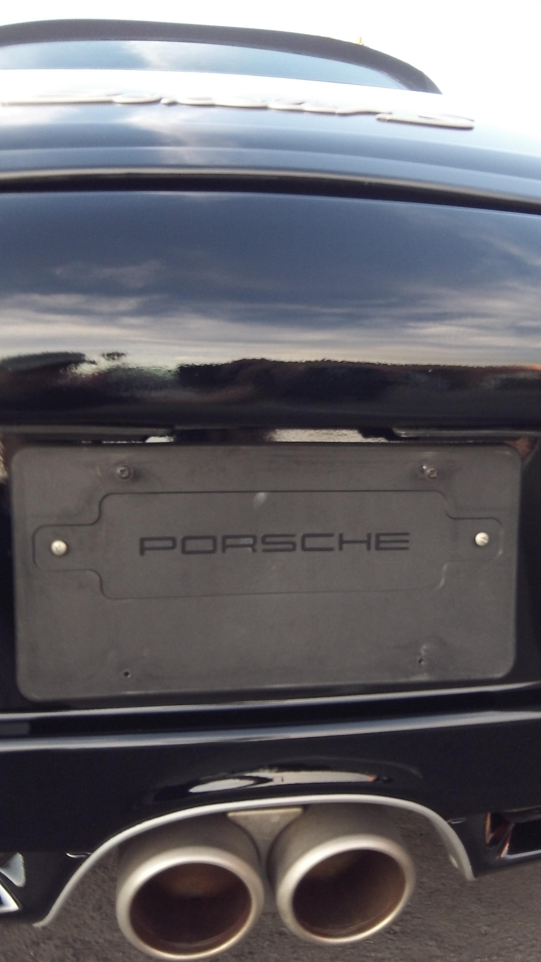 fixed Porsche